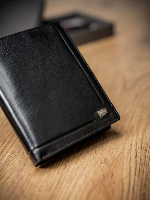 Portfel męski skórzany ROVICKY PC-106-BAR