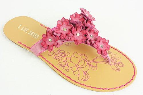 Klapki Japonki Kwiatki Kolorowe