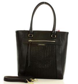 MONNARI Miejska torebka shopper bag czarny